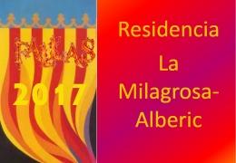 Fallas 2017 en la Residencia La Milagrosa