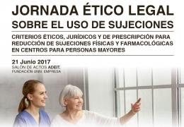 Jornada Ético Legal sobre el uso de Sujeciones