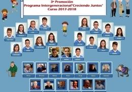 """3ª Promoción del Programa Intergeneracional """"Creciendo Juntos"""""""