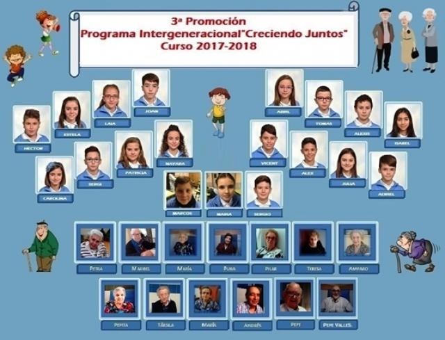 3ª Promoción del Programa Intergeneracional