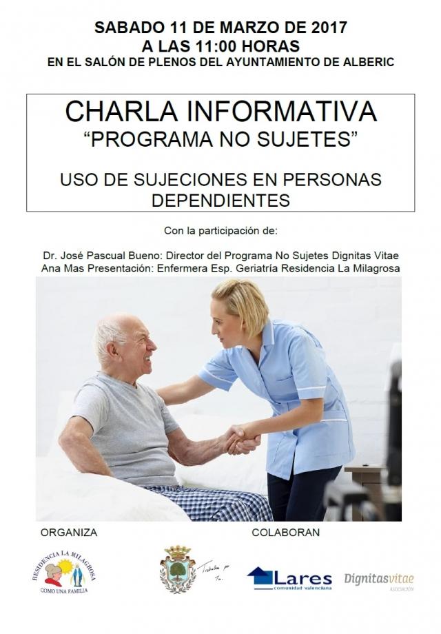 Charla Informativa- Programa No Sujetes