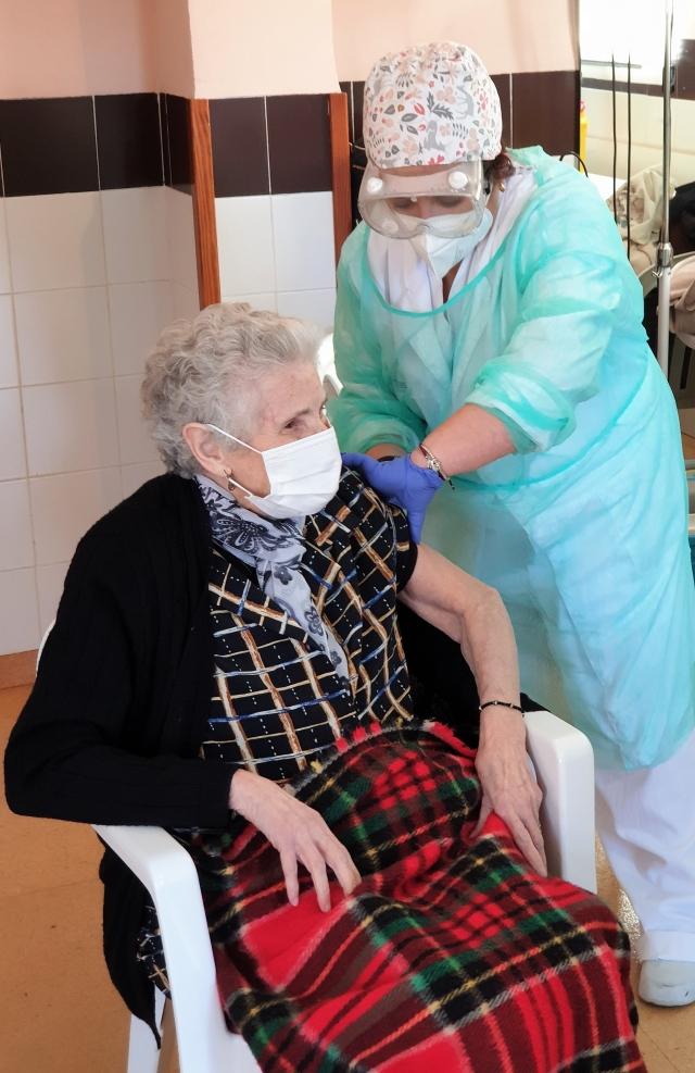 Inicio Vacunación Covid-19 en Residencias