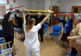 La Residencia para Mayores de Manises amplia su programa de entrenamiento físico