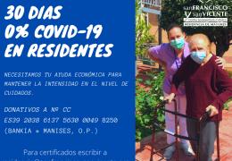 Proteger a las Personas Mayores Dependientes de Manises del COVID-19