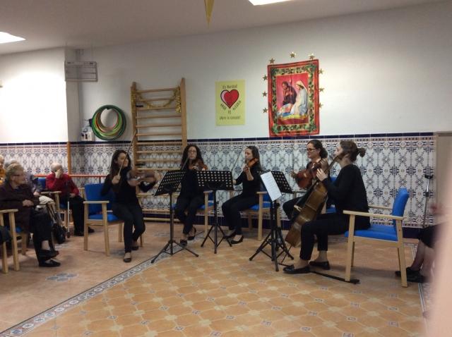 Concierto quinteto de cuerdas Ateneu Cultural Ciutat de Manises