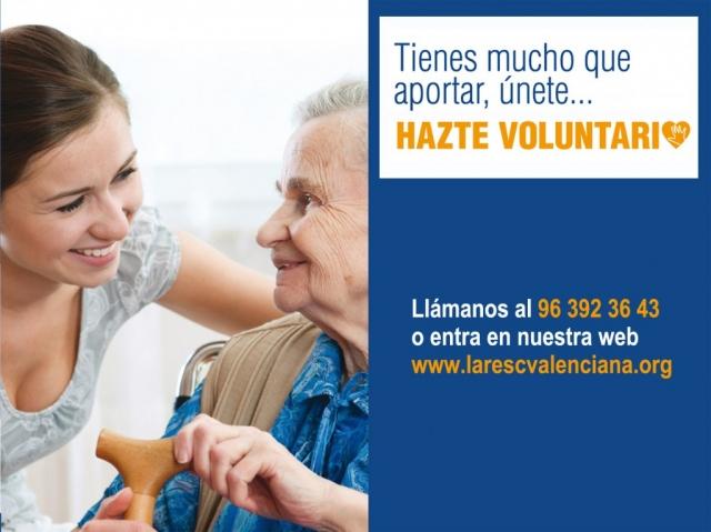 Lares CV celebra hoy, 5 de diciembre, el Día Internacional del Voluntariado