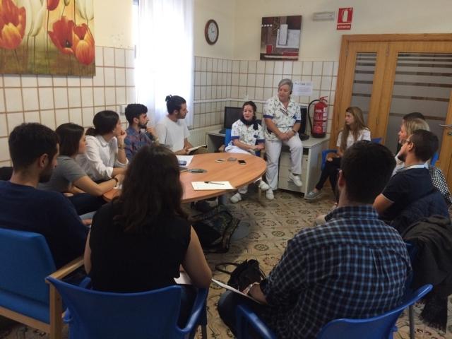 Ingenieros Master CEU Cardenal Herrera vistan la Residencia