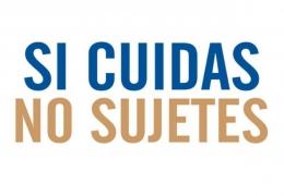 Compromiso de la organización con el programa NO SUJETES.
