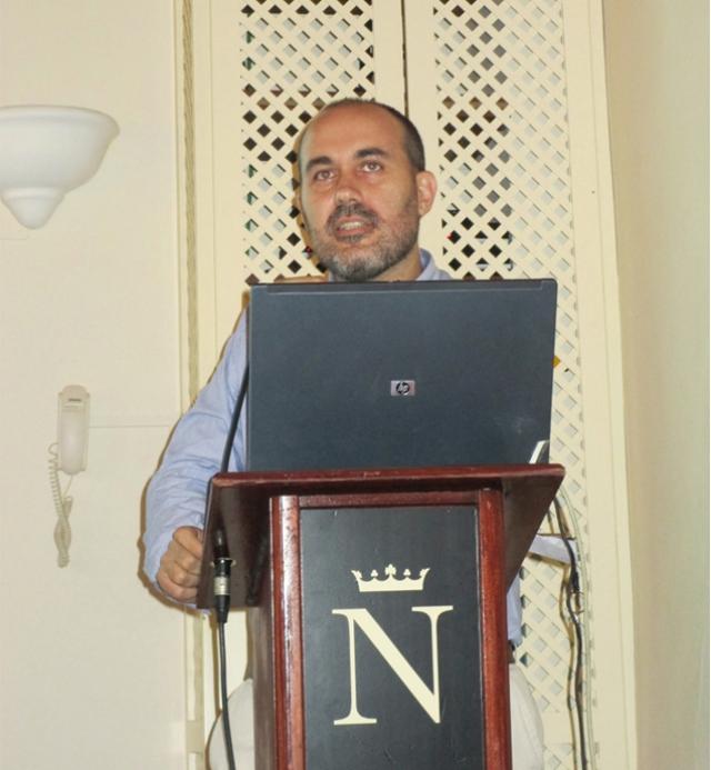 Sergio Cañellas participó en una mesa redonda de las XIII Jornadas nacionales de Lares en Tenerife