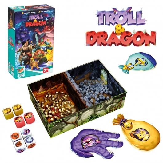 TROLL AND DRAGON