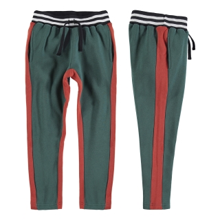 BICOLOR PANTS (GREEN)