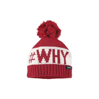 WHY TRICOT BEANIE (RED)