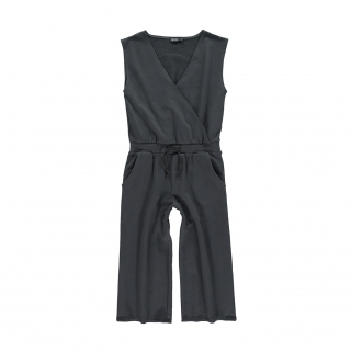 Crossed Jumpsuit (asphalt)