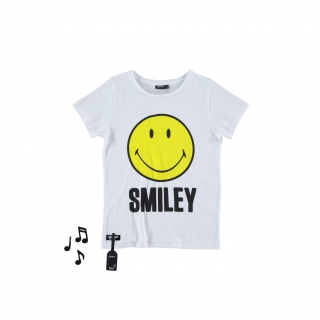 Smiley Sound Tee (sonido)