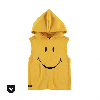 Smiley Pocket Hoodie (yellow)