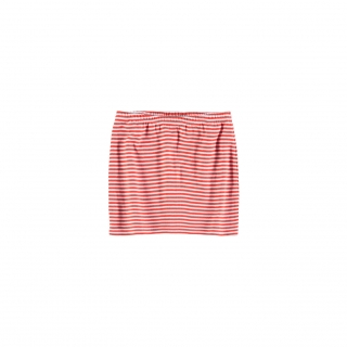 Striped Tube Skirt (paprika)