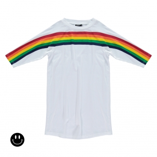 Rainbow Dress (white)