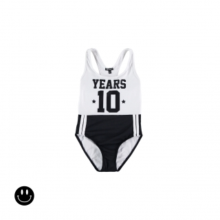 Years Swimsuit (white + black)