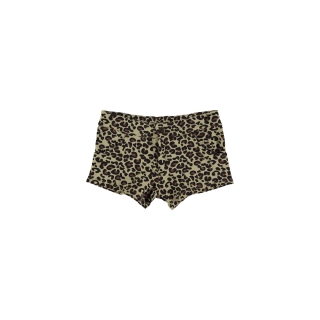 LEOPARD MINI SHORT