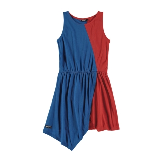 BICOLOR DRESS (HIGH BLUE + RED)