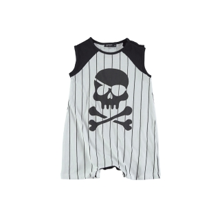 PIRATE BABY OVERALL