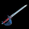 Espada azul