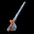 Espada naranja