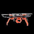 Drone con pinza cerrada