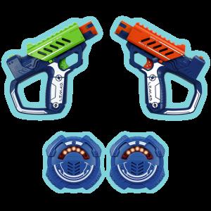 Lazer M.A.D. Battle OPS, Set de dos pistolas básicas