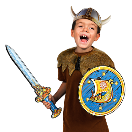 Pack escudo y espada
