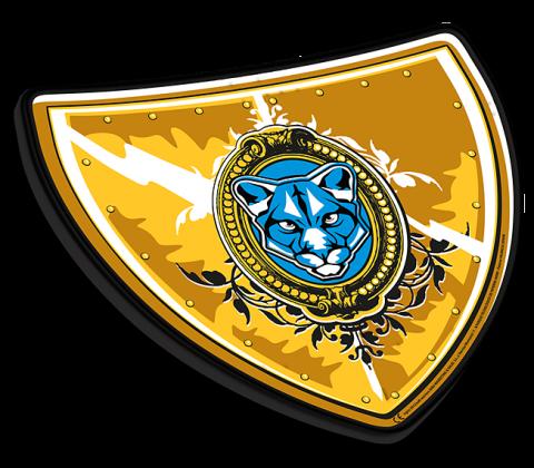 Escudo Caballero Amarillo