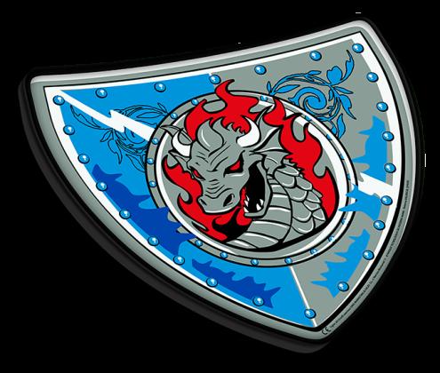Escudo Caballero Azul