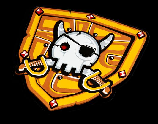 Escudo pirata