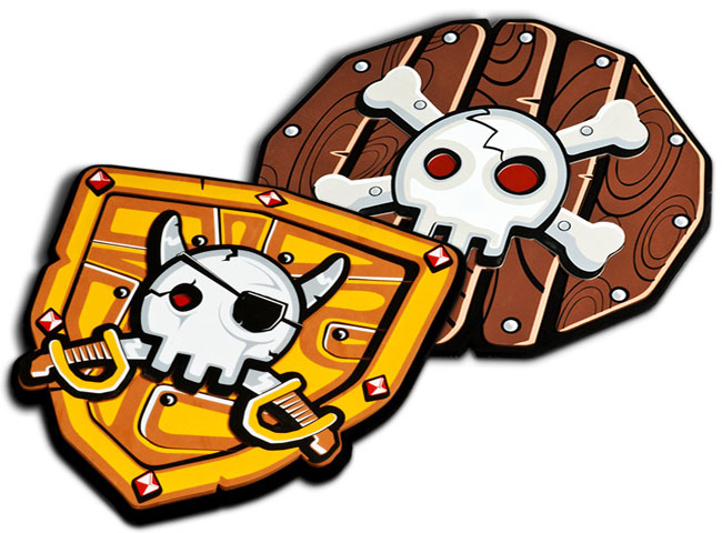 Escudos Piratas