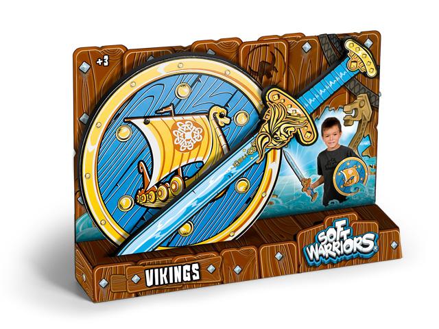 Pack Vikingo Espada y Escudo