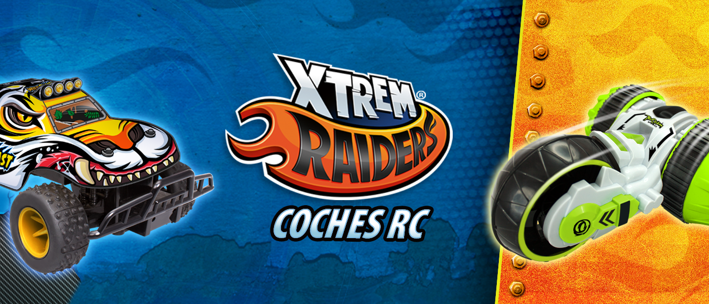 Xtrem Raiders Coches RC