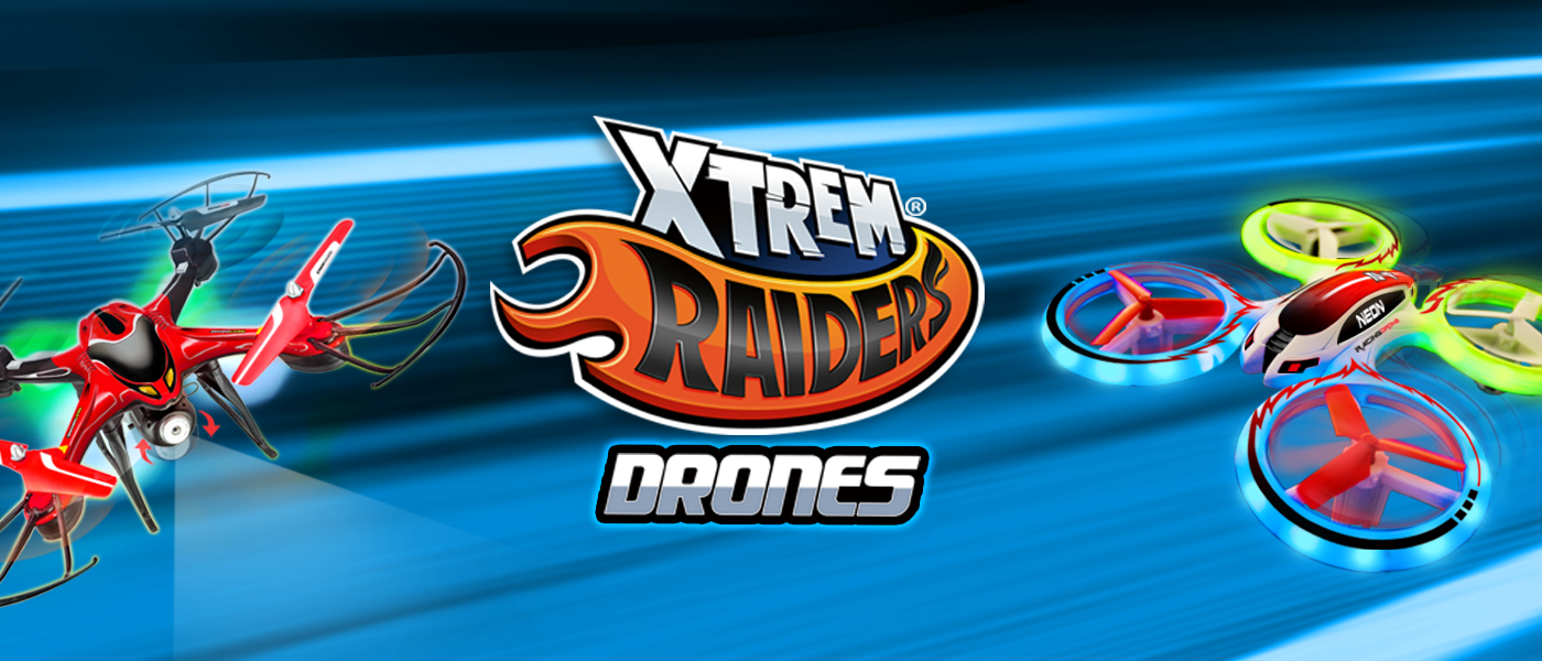 Xtrem Raiders Drones