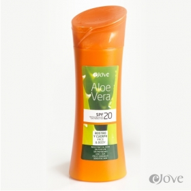 Solar Protection Body Cream with SPF 20